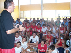 Miquel Ballester. Charla T�cnica. Campus Baloncesto JGBasket 2007